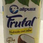 Leche Alpura frutal sabor piña y coco