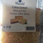 Lemon cake slices