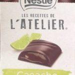 Les Recettes de l'Atelier Ganache Chocolat et Citron Vert