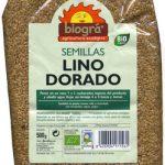 """Lino dorado ecológico """"Biográ"""" (500 g)"""