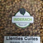 Llenties cuites Inderach