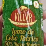 Lomo de cebo iberico 50% raza iberica