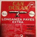 Longaniza payés extra
