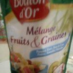 Mélange fruits&graines