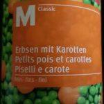 M Classic petits pois et carottes