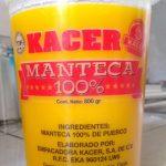 MANTECA 100%