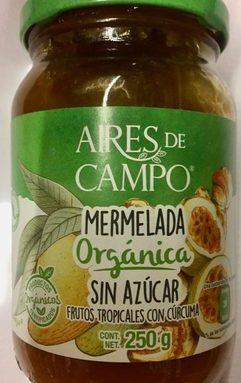 MERMELADA FRUTOS TROPICALES SIN AZUCAR