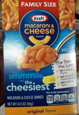 Macaroni & Cheese Dinner