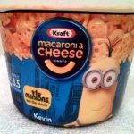 Macaroni & cheese dinner - minions