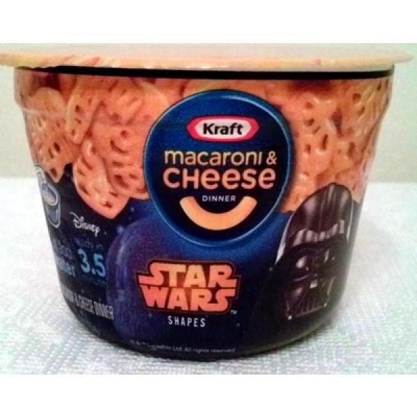 Macaroni & cheese dinner - star wars