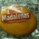 Magdalenas con mantequilla