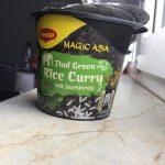 Magic Asia Thai Green Rice Curry mit Jasminreis