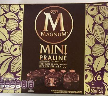 Magnum mini praliné