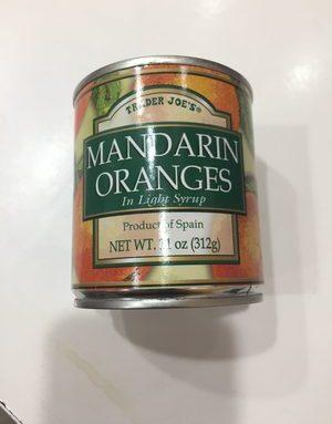 Mandarin Oranges In Light Syrup