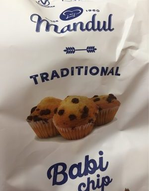 Mandul Traditional Babi Chip Cup Cake