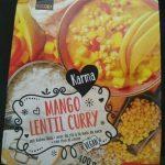 Mango lentil curry
