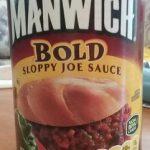 Manwich Bold Sloppy Joe Sauce