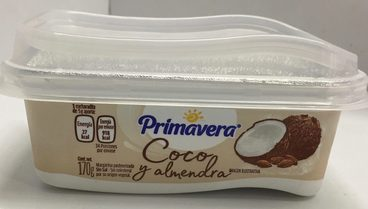 Margarina Coco & Almendra Sin Sal Primavera