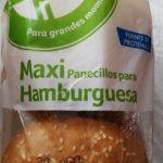 Maxi panecillos hamburguesa