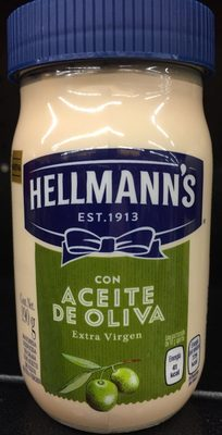 Mayonesa con aceite de oliva Hellmann´s