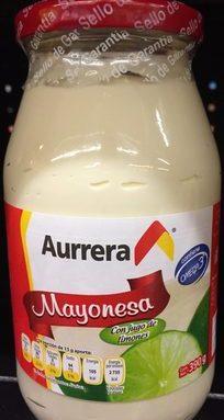Mayonesa con jugo de limón