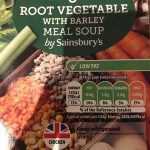 Meal Soup Chicken & Root Vegetable with Barley