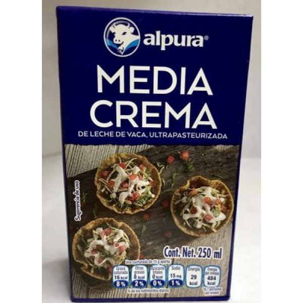 Media Crema Alpura