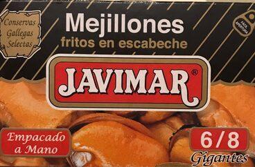 Mejillones fritos en escabeche