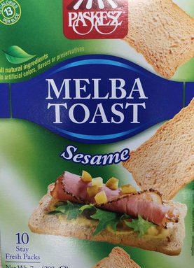 Melba Toast Sésame