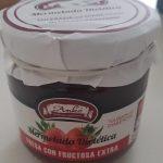 Mermelada Dietética fresa con fructosa extra