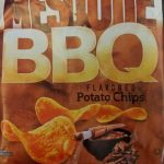 Mesquite BBQ flavored potato chips