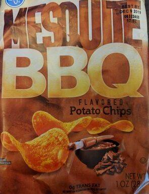 Mesquite BBQ flavored potato chips