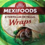 Mexifoods 6 Flour Tortillas 25CM