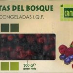 """Mezcla de frutas del bosque congeladas """"El Campanillo"""""""