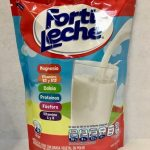 Mezcla de leche con grasa vegetal en polvo