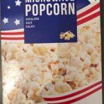 Microwave Popcorn à l'huile de palme