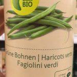 Migros Bio Grüne Bohnen