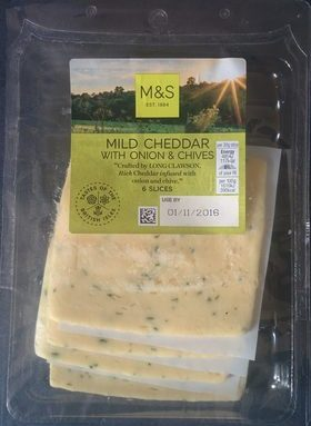 Mild Cheddar with Onions & Chives