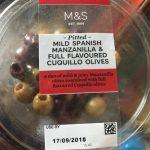 Mild Spanish Manzanilla & Full Flavoured Cuquillo Olives