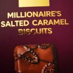 Millionaire's salted caramel biscuits