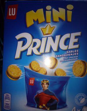 Mini Prince Sablés Goût chocolat