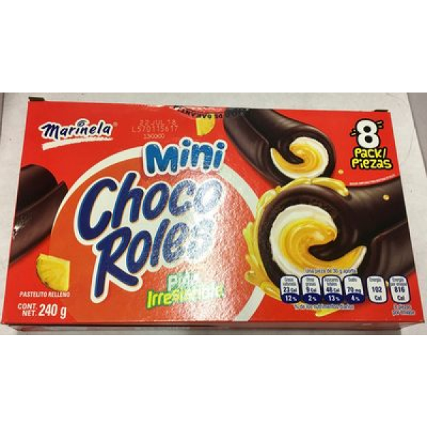 Mini choco roles