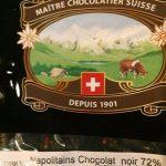 Mini chocolats noirs 72%