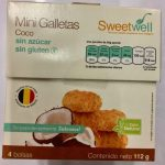 Mini galltetas  de coco Sweetwell