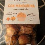 Mini-magdalenas con mandarina
