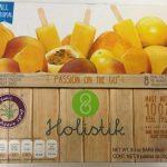 Mini paletas de mango maracuya Holistik
