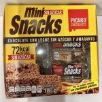 Mini snacks sin azúcar Picard