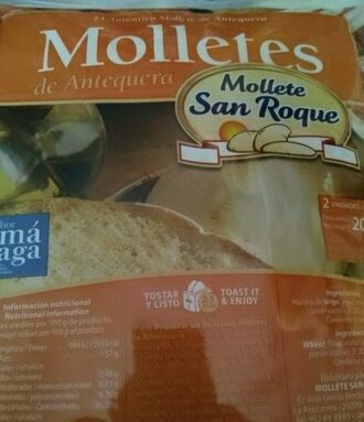 Molletes San Roque (Antequera)