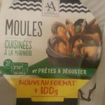 Moules cuisinees