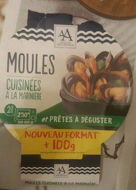 Moules cuisinees